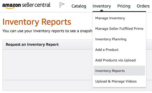amazon run open listing report 1