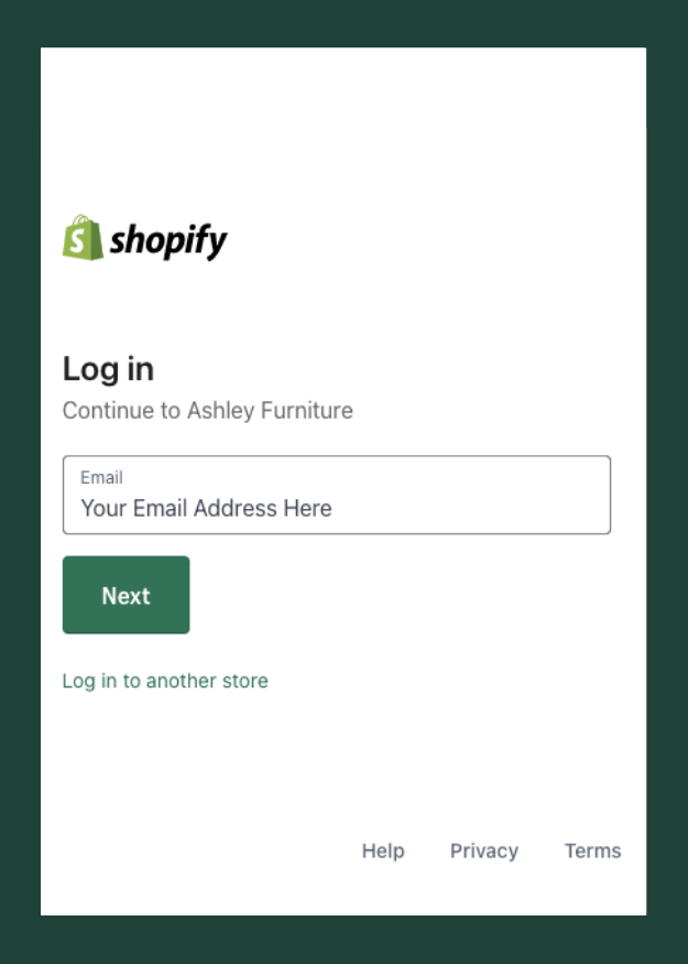 Email Shopify
