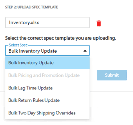 walmart bulk inventory 5